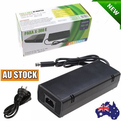 AC Adapter Charger Power Supply Cord for Xbox 360E Brick Game Console AU Plug 24