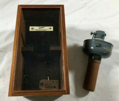 SESTREL Hand Held Compass Henry Browne & Son Vintage with Case 20117/8 England