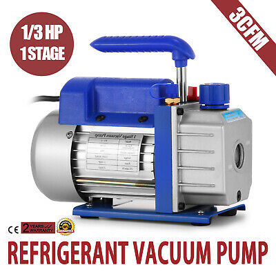 Refrigerant Vacuum Pump HVAC A/C 85 L/min Air Conditioning LOCAL SHIPPING