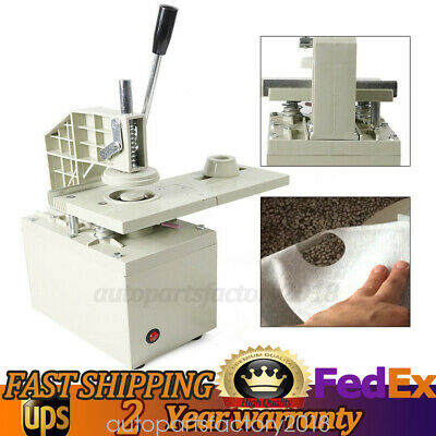 300W Electric Curtain Eyelet Puncher Machine Curtain Punching Press Machine 110V