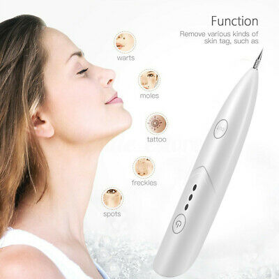 Laser Freckle Skin Mole Dark Spot Remover Face Wart Tag Tattoo Removal Pen HOT