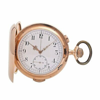 INVICTA Pocket Watch  Minute Repetition Chronograph1900 14K Gold  Hunter Watch