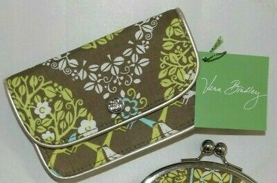 VERA BRADLEY Quickstep Wallet Sittin' in a Tree Birds - Credit Card Holder NWT