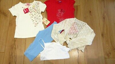 £32 girls T shirts Shorts  Top  Outfit next age 6 7 years minnie bundle unwanted