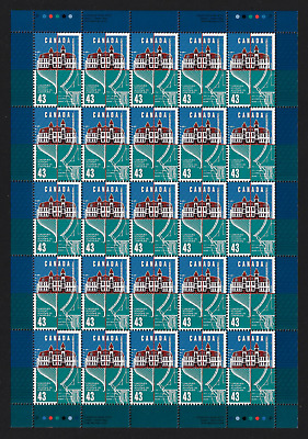 Canada Stamps — Full Pane of 25 — Lunenburg Academy Centenary #1558 — MNH