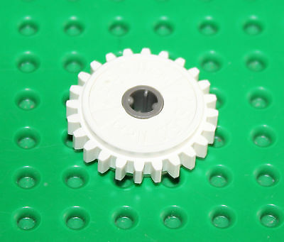 blanc X 1 LEGO-TECHNIC-Gear 24 Tooth Clutch 60c01 TK1375