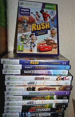 Xbox 360 Kinect Games UK PAL