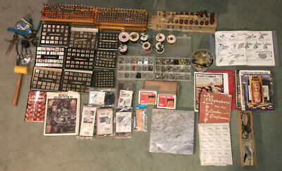Vintage Lot of Leather Tools & 400+ Accessories Craftool Co.