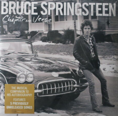 BRUCE SPRINGSTEEN chapter and verse digipak CD NEW/SEALED  S9