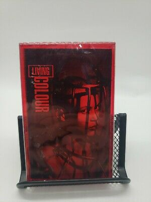 Living Colour Stain Brand New Sealed Red Cassette