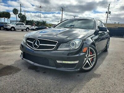 2013 Mercedes-Benz C-Class C63 AMG 2013 MERCEDES BENZ C63 AMG COUPE SUEDE/LEATHER NAVIGATION TRUE AMG C BEST OFFER