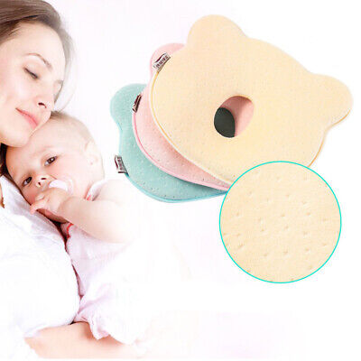 Baby Cot Pillow Newborn Infant Anti Flat Head Cushion Crib Bed Neck-Supporting