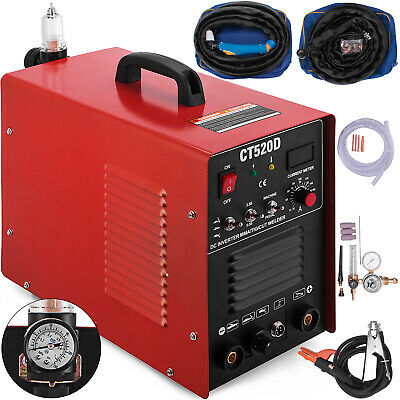 CT520D 3 In 1 Functional Plasma Cutter/TIG/MMA 50A/200A Welder & Accessories