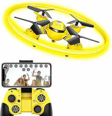 Hasakee Q8 Fpv Drone With Hd Camera For Adults,Rc Drones For Kids Quadcopter Wit