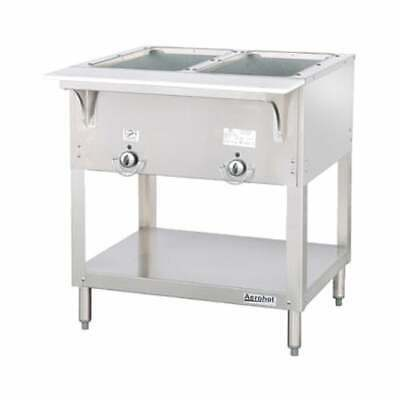 BRAND NEW Duke 2 Well 115v Electric Hot Food Warming Table E302-115-1 FREE S&H