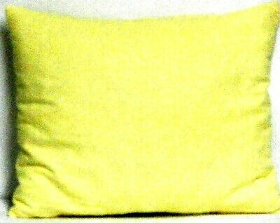 Toddler Pillow on Yellow Flannel FY30 New Handmade