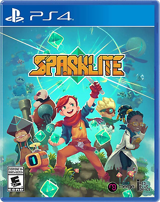 Sparklite PS4 (Sony PlayStation 4, 2019) Brand New - Region Free