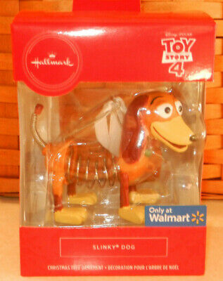 Hallmark 2019 Slinky Dog Toy Story 4 Christmas Ornament New