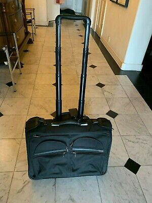 TUMI 2 Wheeled Carry-On Garment Bag USED Only Twice
