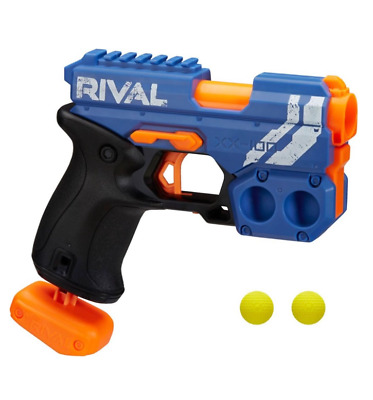 New Nerf Gun Rival Knockout Blaster Red or Blue Boy's Toy Hand Guns Foam Darts