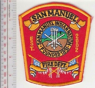 American Indian San Manuel Indian Nation Reservation Fire Department California