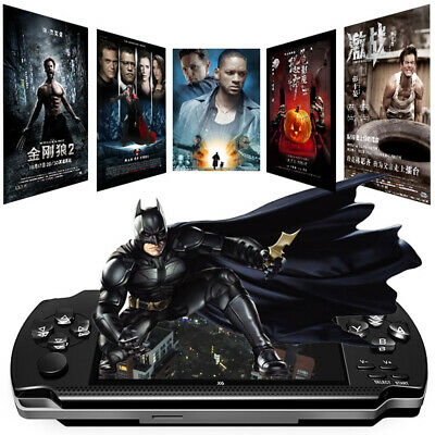"""64 Bit 4.3"""" PSP Portable Handheld Game 8GB Console Player 10000+Games +Camera"""