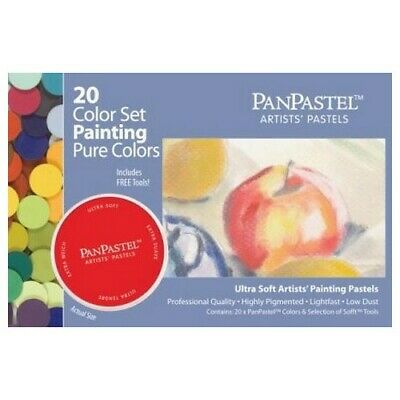 Armadillo Art & Craft 30201 Panpastel Set 20 Color Paint