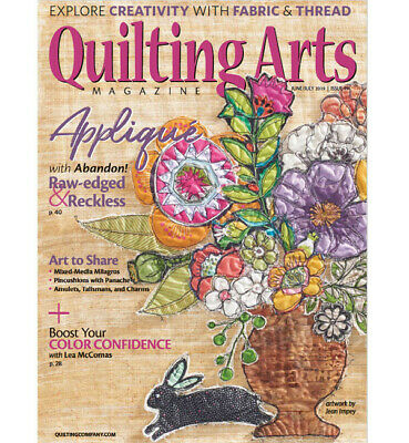 Quilting Arts Magazine June/July 2019