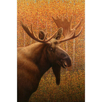 DIY Forest Elk Moose 5D Full Drill Diamond Painting Embroidery for Wall Hangings