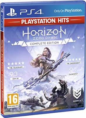 Horizon Zero Dawn PS4 Complete Edition - NEW Sealed UK English