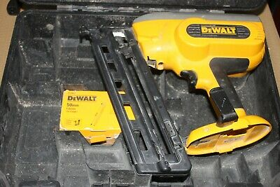 DEWALT DC618 Cordless Nail Gun & case (No battery or charger)