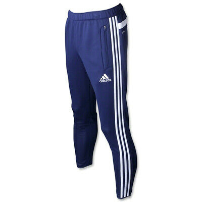 Adidas Originals Tiro 13 Athletic Pants Tapered Navy White Boys Size M NEW!