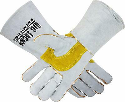 Better Grip Leather Welding Gloves made with Kevlar Stitching, BGBYWELD2
