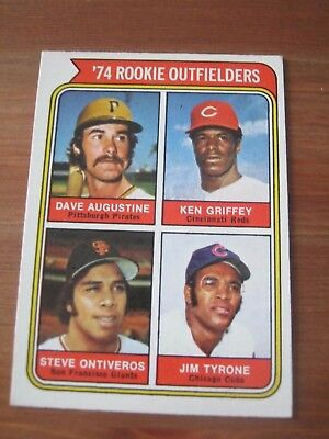 1974 OPC O Pee Chee #598 Ken Griffey - Reds Rookie Card                       ZB
