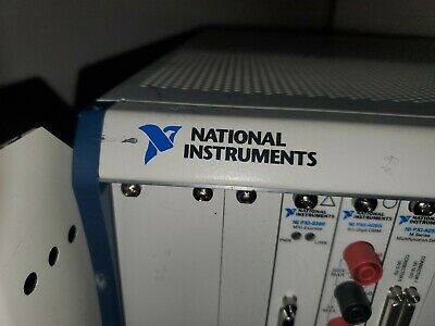 National Instruments NI PXI-1044 Chassis  Mainframe with 8 modules