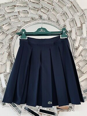 Brand New Girls LACOSTE tennis Pleated Skirt Age 12 £75 💖 Genuine