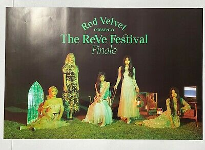 Red Velvet - The Reve Festival Finale (Repackage Album) Unfolded Official Poster