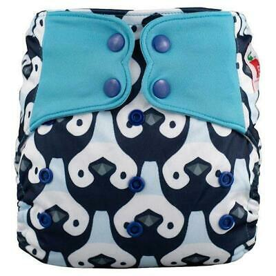 Modern Cloth Nappy Baby MCN Pocket Reusable OSFM Washable Elf Diaper Penguins