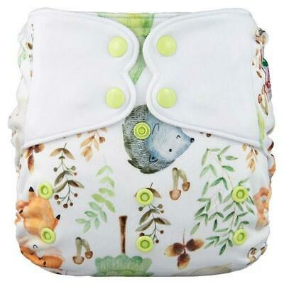 Modern Cloth Nappy Baby MCN Pocket Reusable Washable Elf Diaper Woodland animals