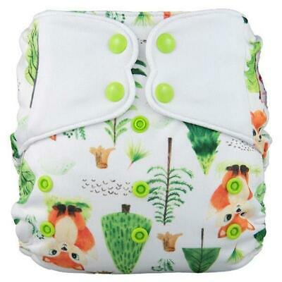 Modern Cloth Nappy Baby MCN Pocket Reusable OSFM Washable Elf Diaper Foxes