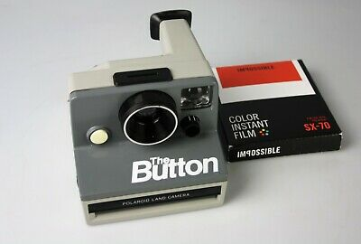 The Button Polaroid Land Camera