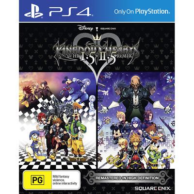 KINGDOM HEARTS HD 1.5 + 2.5 ReMIX PlayStation 4 PS4 GAME BRAND NEW FREE POSTAGE