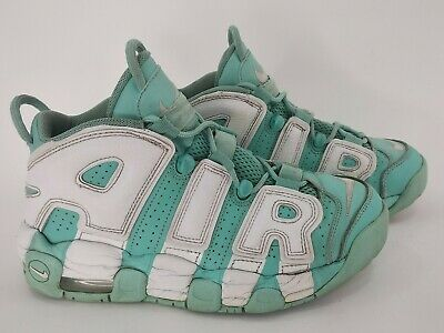 YOUTH NIKE AIR More Uptempo QS (GS) Trainers UK Size 5.5