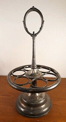 Condiment Caddy Castor Antique Silver Plate Rogers Smith Co
