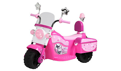 Chad Valley 6V Ride On Princess Stardom Children's Bike - Pink.