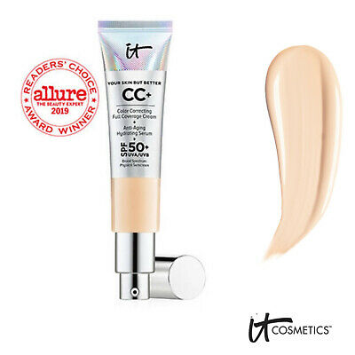 IT COSMETICS CC+ Cream SPF50+ Colour Correcting LIGHT Your Skin But Better 32ml