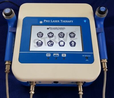 COMPUTERISED COLD LASER THERAPY 2 Probes Semiconductor Laser Machine