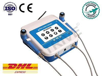 Computerised Laser Therapy Semiconductor laser 2 Probes Physiotherapy laser