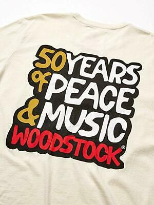 NWT Lucky Brand Woodstock S//S Black Graphic Tee   Select Size    L2220