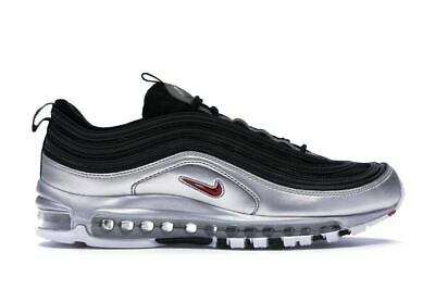 NIKE AIR MAX 97 Silver Black Mens Shoes Scarpe Uomo Donna